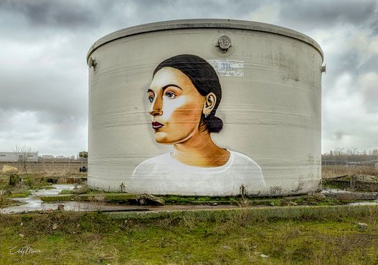 Andere graffiti kunsteaar