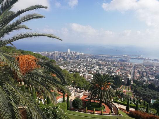 Baha'i gardens in Haifa