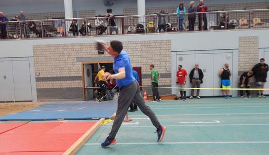 Andreas Reuschenbach empfahl sich bei seinem ersten und sehr erfolgreichen DM-Einsatz für weitere Einsätze.