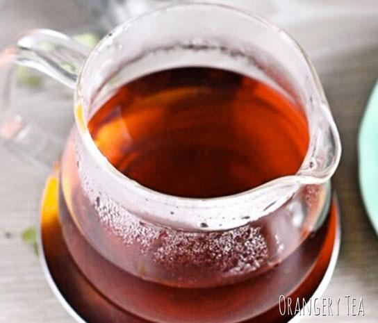 アールグレイの香りには、ベルガモットという柑橘系果実の果皮から抽出したものを使います