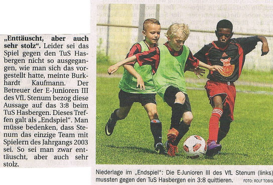 aus: Delmenhorster Kreisblatt am 13.06.2013