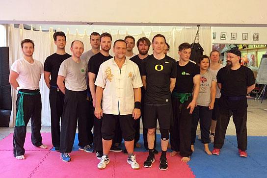 Gasttrainer aus Taiwan in der JIng Wu Schule Köln