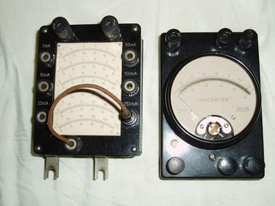 Gossen  Nebenwiderstand Wechselstrom zum Universal Mavometer - Maweco