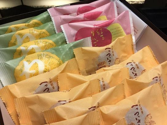 こんなブログを書きながら差し入れの美味しいお菓子をいただいております^^;ありがとうございます!