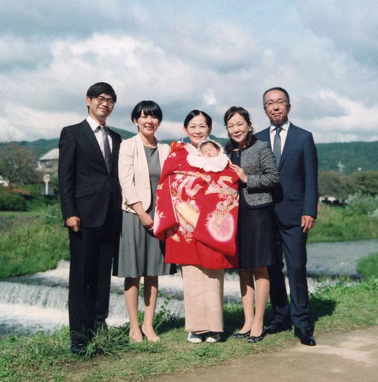 U様ご家族(2017年10月 カラーフィルム撮影)