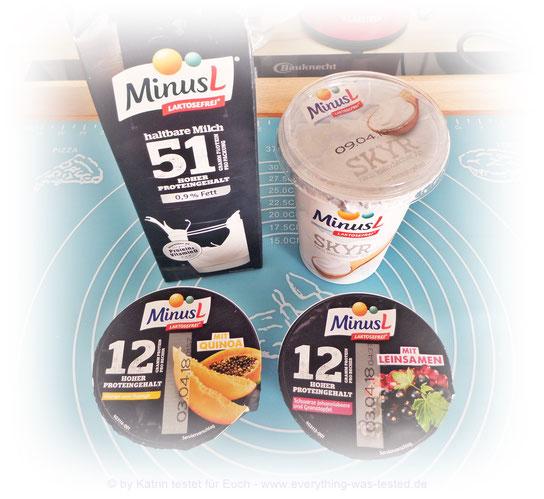 Die neue Linie von Omira - MinusL Proteinmilch, Proteingenuss und Skyr