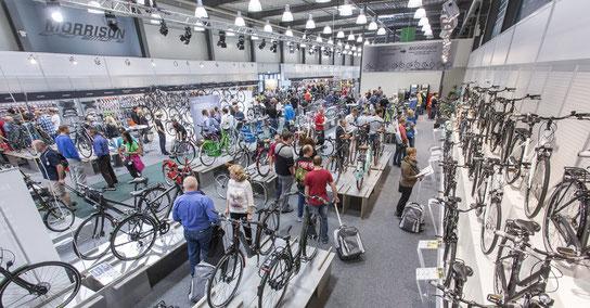 Halle 6 auf der BIKE&CO-Ordermesse 2015 (Foto: BICO Zweirad Marketing GmbH)