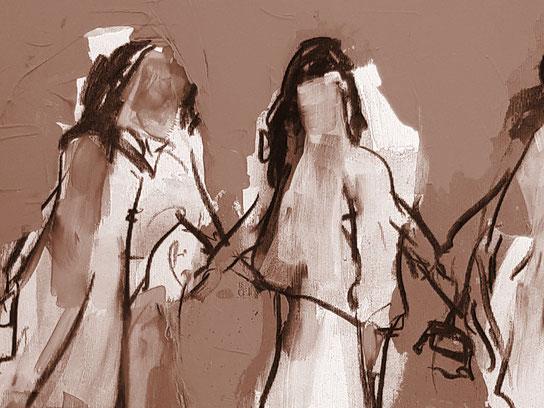 abstrakte Frauen