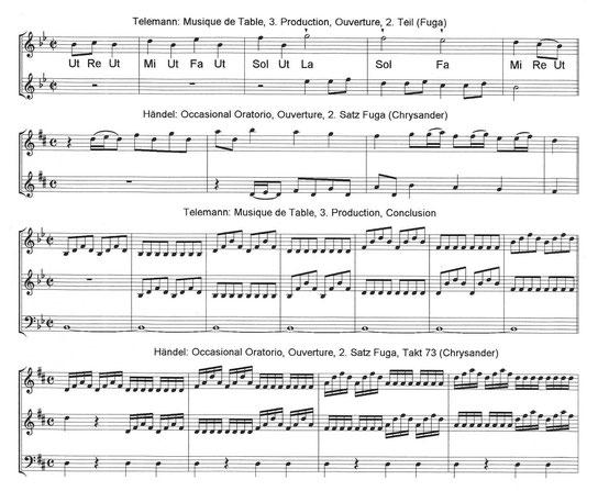 Georg Philipp Telemann | Georg Friedrich Händel | Telemann and Handel