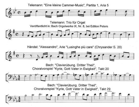 Telemann |  Bach | Händel