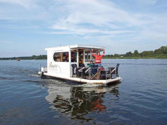 ohne f hrerschein und einzigartig in holland happyfloss hausbooturlaub am bijland see. Black Bedroom Furniture Sets. Home Design Ideas