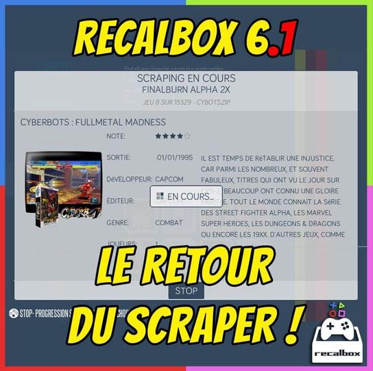 Recalbox Scraper