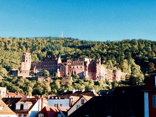 Städtereise Deutschland, das Heidelberger Schloss