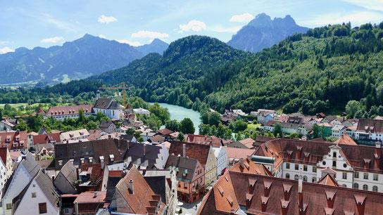 Füssen Allgäuer Alpen und Lech