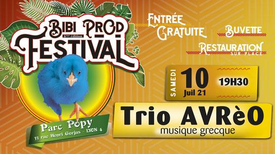 Bibi Prod Festival 10 Juillet 2021
