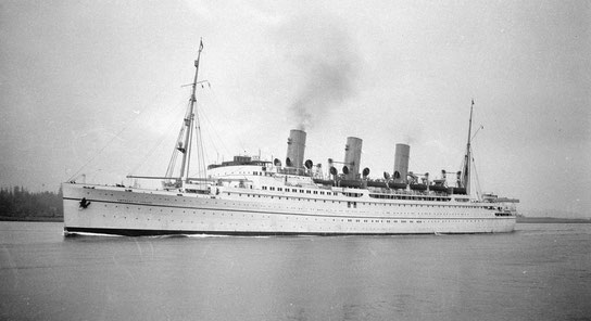 SS  EMPRESS OF CANADA is the ship Meher Baba & party sailed from Vancouver, Canada to Shanghai, China in January 1935.