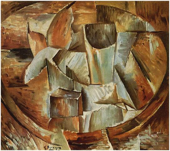 """Georges Braque, """"Bicchiere sul tavolo"""""""