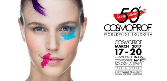 Cosmoprof / COSMOPRIME pav. 19, booth E3, 16-19 March 2017