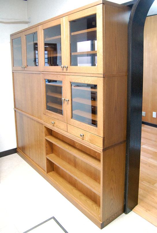 両面から使える間仕切りキッチン壁面収納(愛川町・S様邸)キッチン側