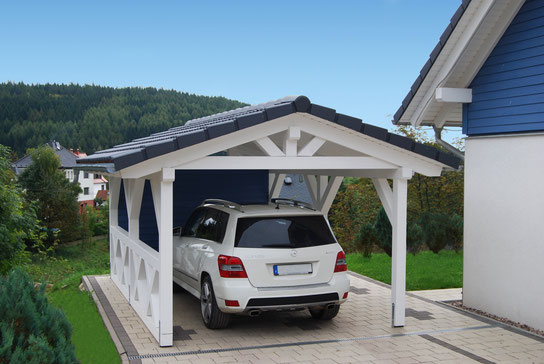 spitzdach carport nach ihren w nschen premium carportwerk. Black Bedroom Furniture Sets. Home Design Ideas