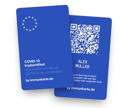 Die neue Immunkarte - ab sofort in der Cronen Apotheke Coesfeld erhältlich