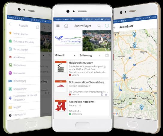 Traunstein Regio - die App für iPhone, iPad und Android