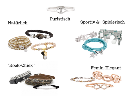 Welches Armband paßt zu Deinem Stil?