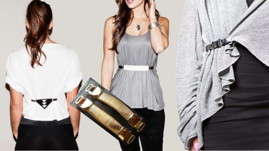 Blusen -Taillierer, Shirt-Raffer, Mini-Gürtel