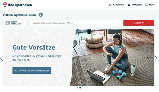 Online einkaufen bei der Marien-Apothe in Reken über IhreApotheken.de