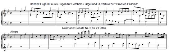 Telemann / Händel
