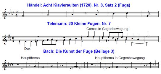 Telemann und Händel