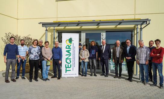 Besuch des Bio-Kunststoff-Produzenten TECNARO in Ilsfeld