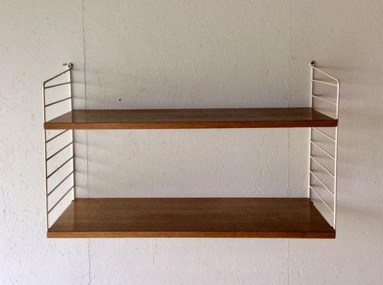 Joli, étagère String, String shelf, String furniture, étagère suspendue, étagère vintage