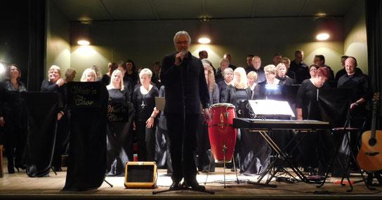 Watt´n Chor im Tivoli während der Weihnachtsfeier
