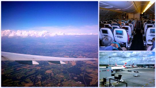 Flug nach Japan