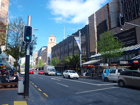 Queen Street in Auckland