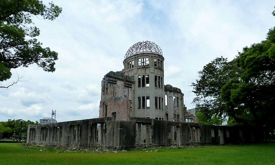 The Dome - Abwurfstelle der Atombombe über Hiroshima