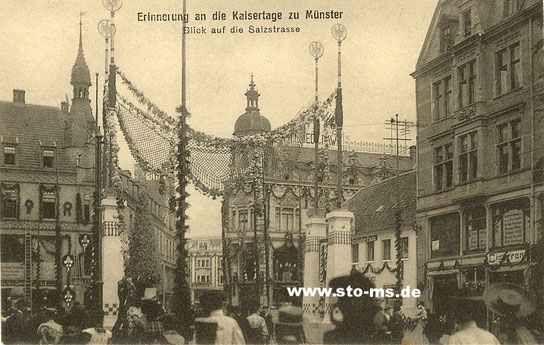 Triumphbogen am Eingang der Salzstraße