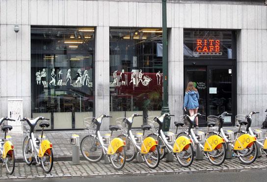 Das RITS-Café in Brüssel (Bild: Hanna Baert)
