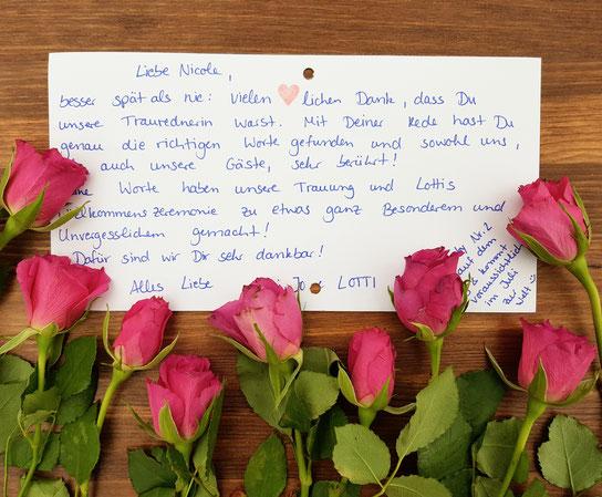 Traufe freie Trauung Taufe Schloss Neuhaus freie Rednerin Nicole Decker-Paxton