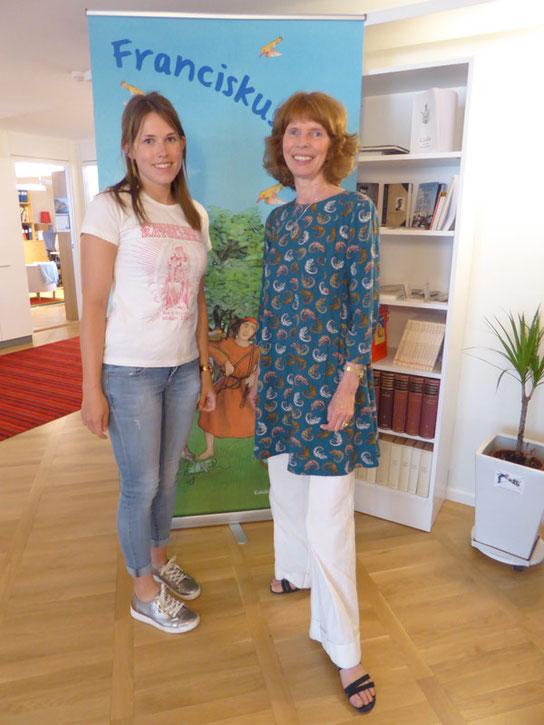 Sarah Didden (links) mit Ulrika Erlandsson.