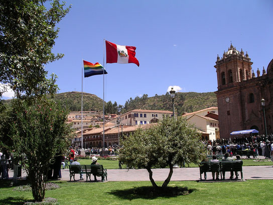 Stadtführung in Cusco in deutscher Sprache mit PERUline