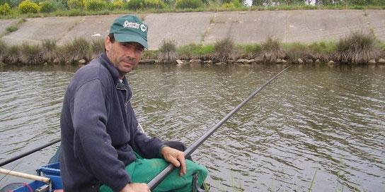 Un pêcheur au coup