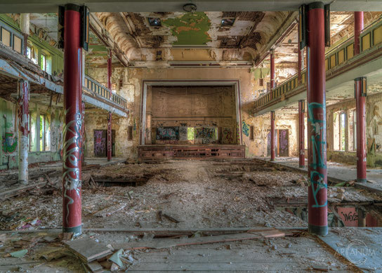 Abandoned Sanatorium in the Harz mountains