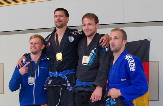 Benedikt Böck: 3.Platz (Blau Gi -88,5kg)