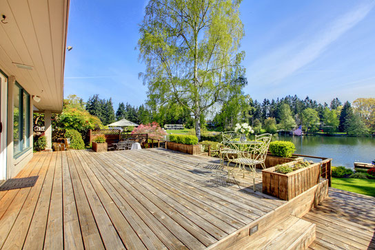 Steve's Roofing and Remodeling can create the custom deck that matches your existing house. Steve's also can repair, stain and pressure wash decking to bring back its original luster.