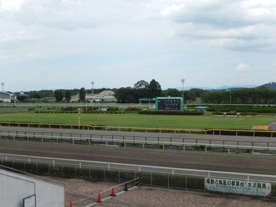 水沢競馬場,巨大スクリーンの無い競馬場
