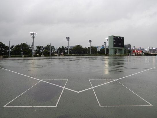 大井競馬場 内馬場 野球場