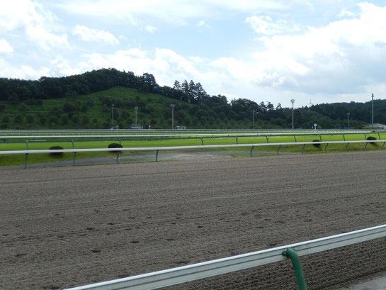 盛岡競馬場 レースコース 2コーナー