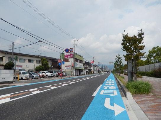 阪神競馬場 周辺駐車場 中津浜線沿い